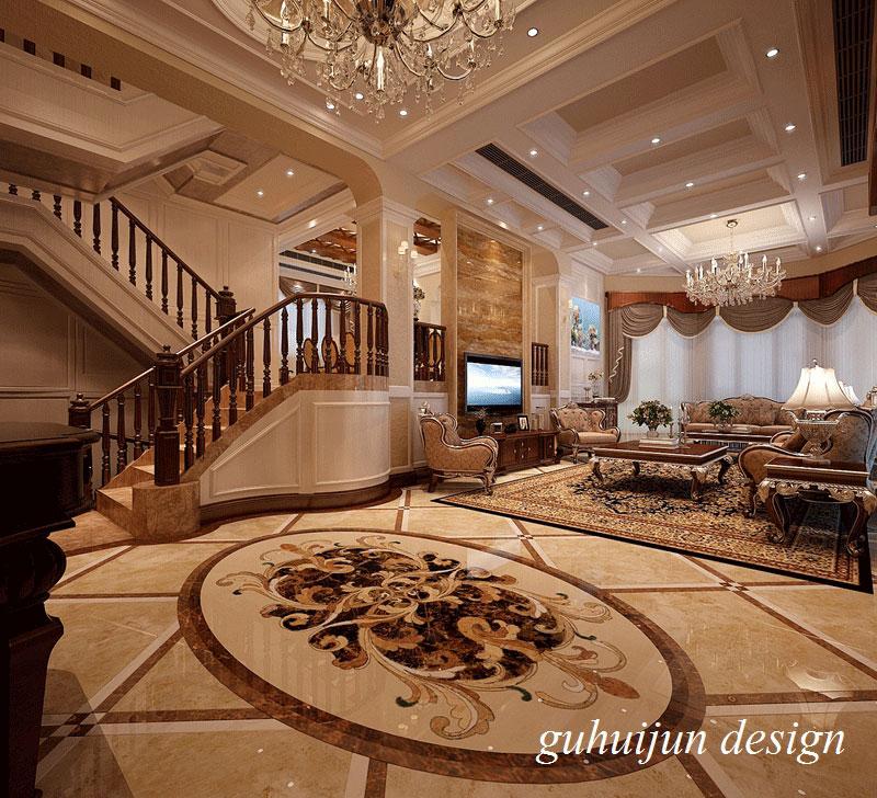 【润邦国际设计】350平|独栋别墅|美式 欧式风//个性由我掌控