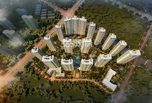 奥体大体量住区、轻奢华宅、品质住区
