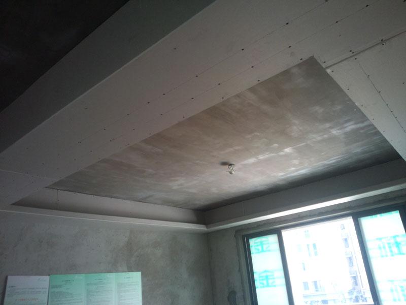 木工多级吊顶现场施工步骤图片