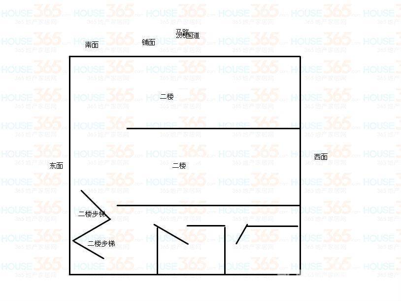 铺面带住房设计图