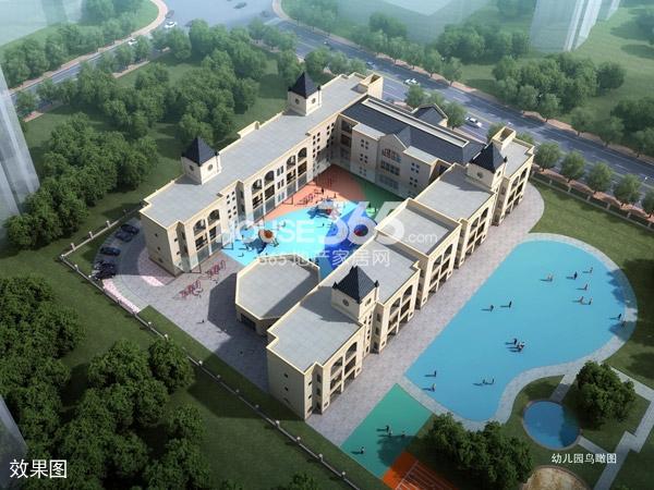 华润国际社区幼儿园鸟瞰图