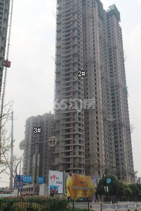 理想银泰城项目2、3号楼施工进程图(2015.8)