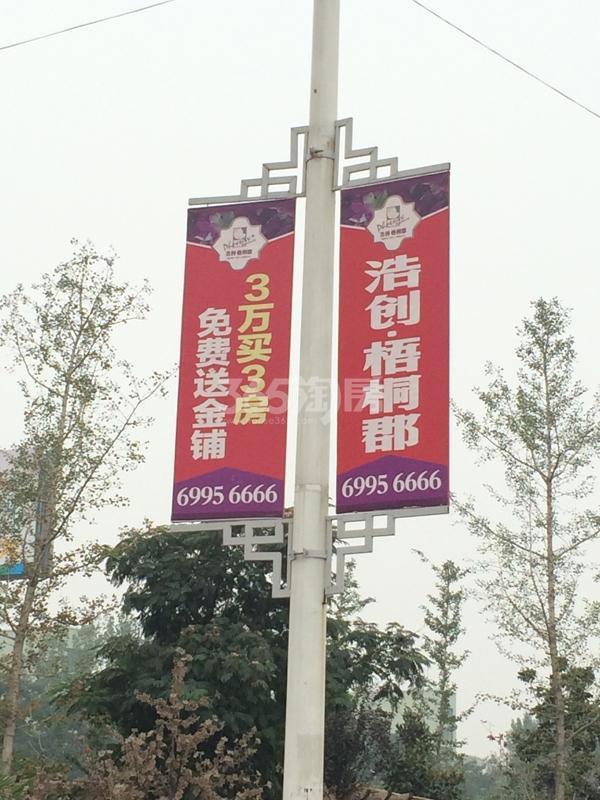 浩创梧桐郡道旗.