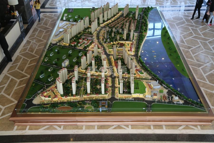 华邦新华城实景图
