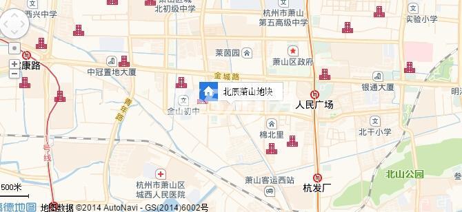 北辰国颂府交通图