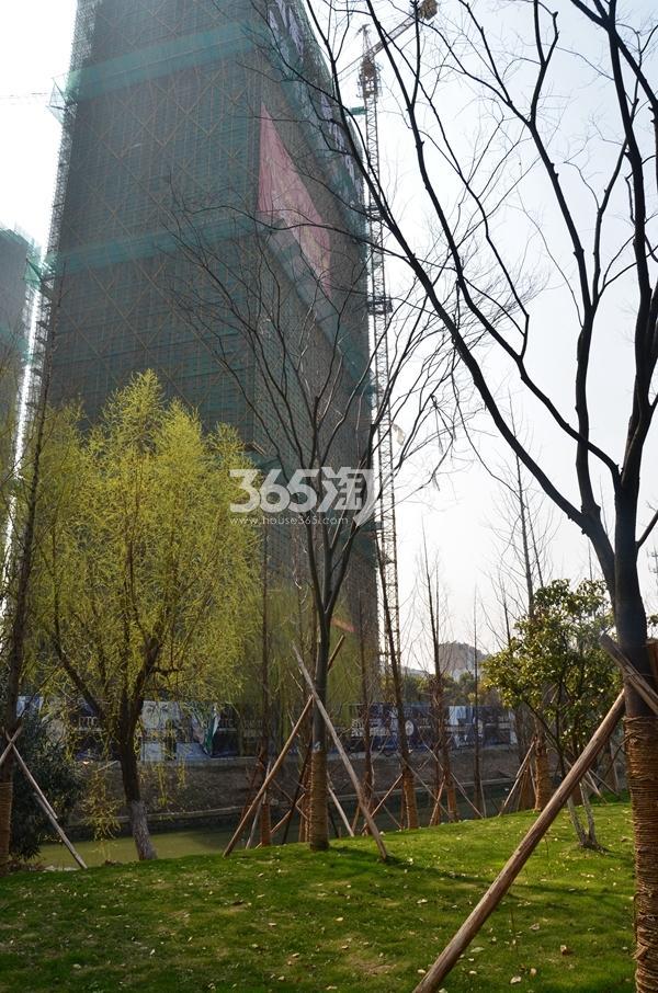 弘阳时代中心实景图(4.22)