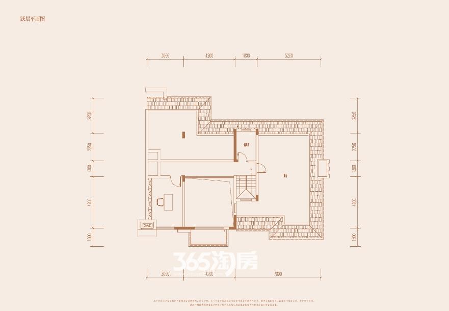 陶冲湖壹号院洋房7层平面图