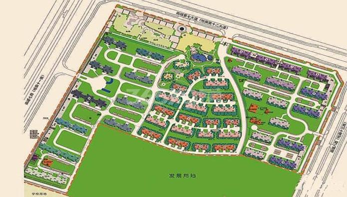 碧桂园欧洲城鸟瞰图