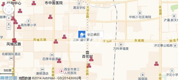 华远枫悦交通图