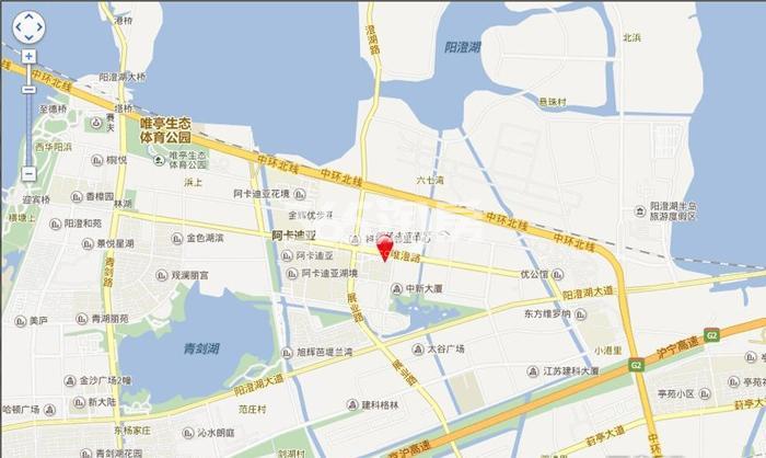 中新翡翠交通图