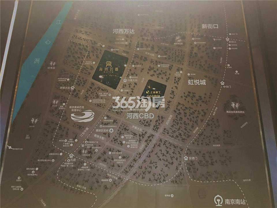 海玥名都项目区位图(11.09)