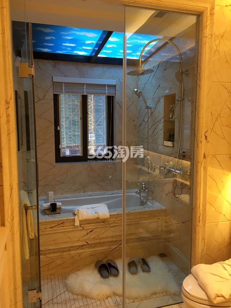 银亿东城165㎡联排别墅样板间卫浴
