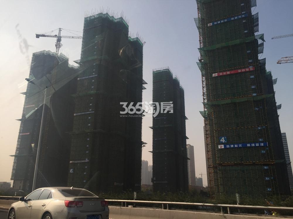 禹洲吉庆里施工实景图(12.20)