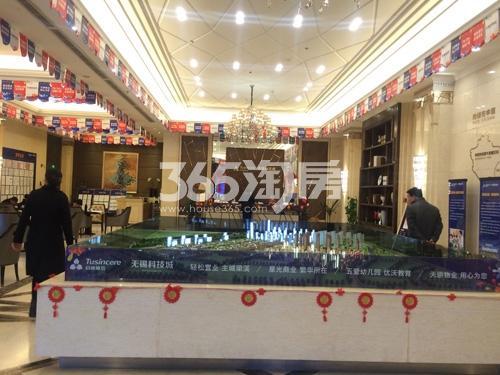 启迪协信无锡科技城沙盘实景图(2017.02)