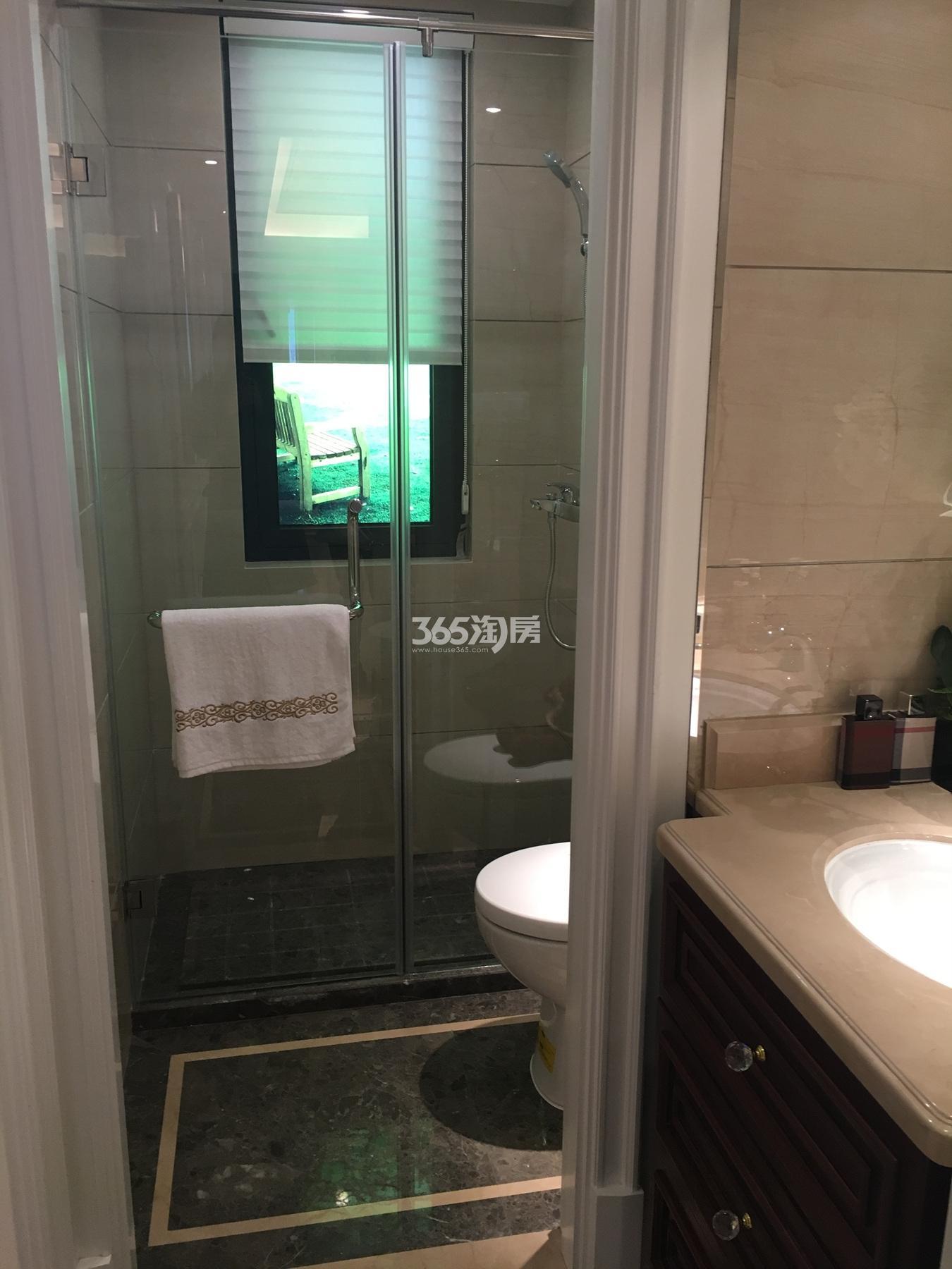 海德公园90方(B1户型)样板房---卫浴间