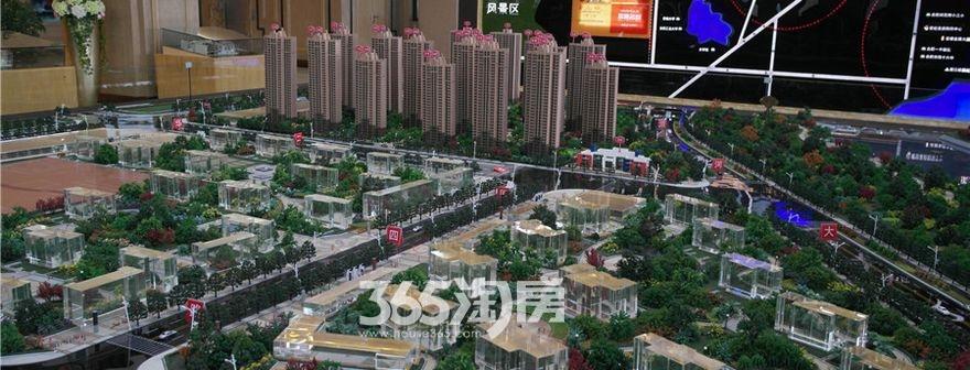 华南城紫荆名都实景图(2017.4)