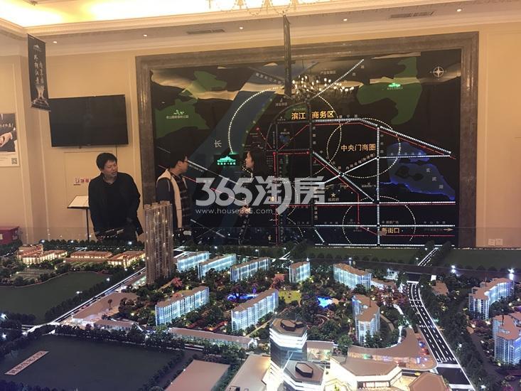 世茂外滩新城项目售楼处实景图(04.18)