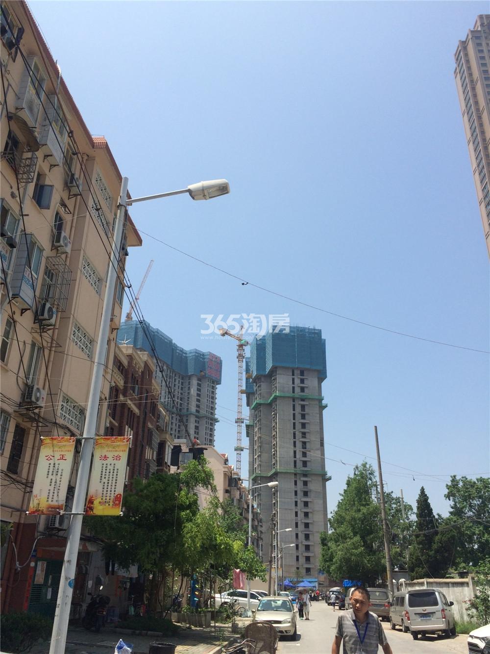 恒盛金陵湾3号楼建至20多层(7.21)