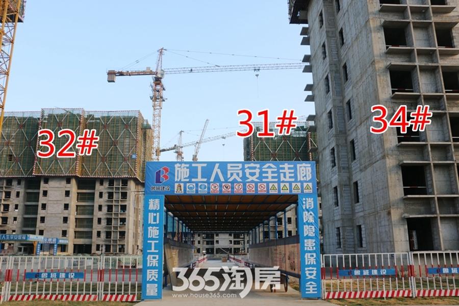 翰林公馆31#32#34#施工中(2017.7摄)