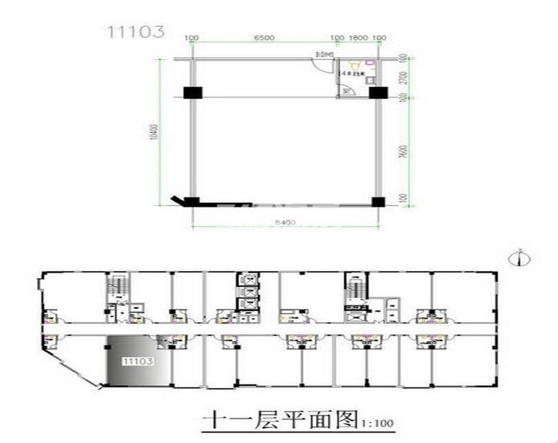 通泰曲江左岸一厅一卫121.54(自由分割)