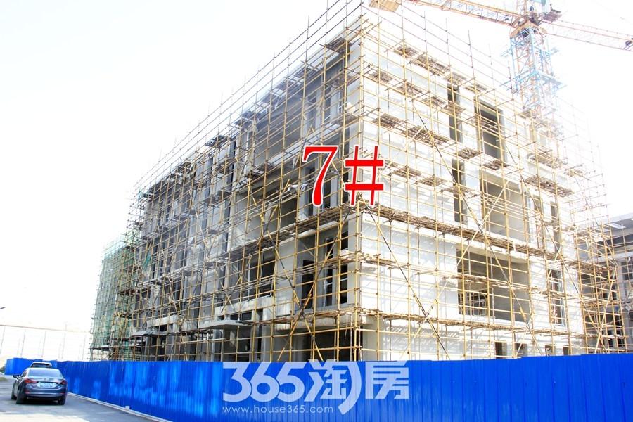 云谷科技园7#施工中(2017.11摄)
