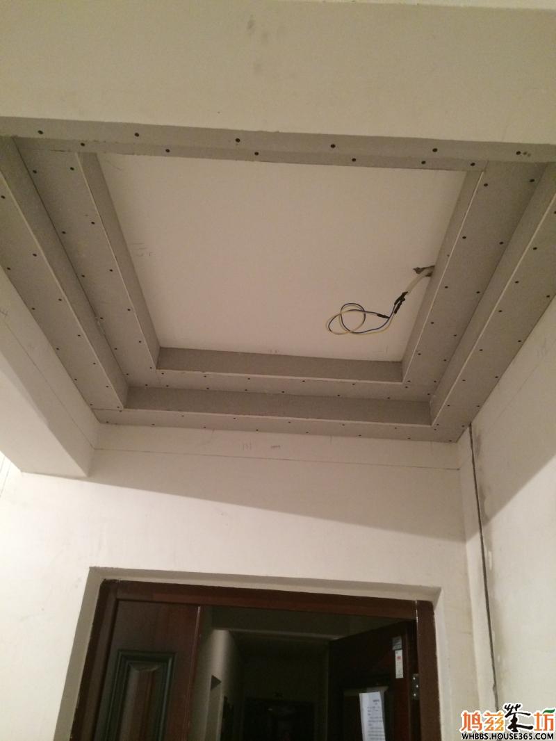 吊顶灯带槽制作方法图解