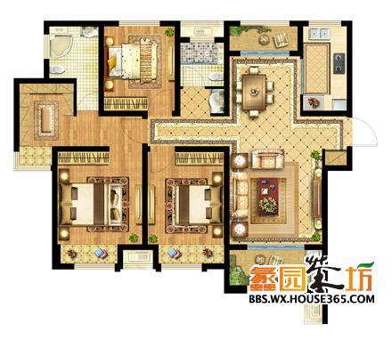 農村房屋室內格局設計圖展示