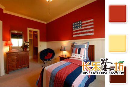 家装大家谈 > 室内色彩搭配技巧   这种颜色搭配非常考验设计师,用的